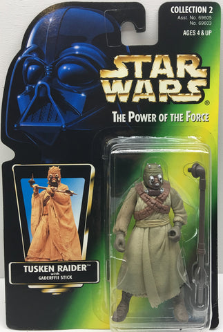 (TAS033413) - 1996 Hasbro Star Wars The Power Of The Force Tusken Raider, , Action Figure, Star Wars, The Angry Spider Vintage Toys & Collectibles Store  - 1