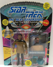 (TAS033422) - 1993 Playmates Star Trek The Next Generation Geordi LaForge, , Action Figure, Star Trek, The Angry Spider Vintage Toys & Collectibles Store  - 1