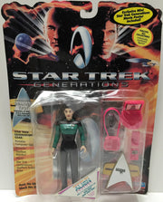 (TAS033424) - 1994 Playmates Star Trek Generations Deanna Troi, , Action Figure, Star Trek, The Angry Spider Vintage Toys & Collectibles Store  - 1
