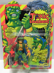 (TAS033442) - 1991 Playmates Toxic Crusaders Action Figure Major Disaster, , Action Figure, Playmates, The Angry Spider Vintage Toys & Collectibles Store  - 1