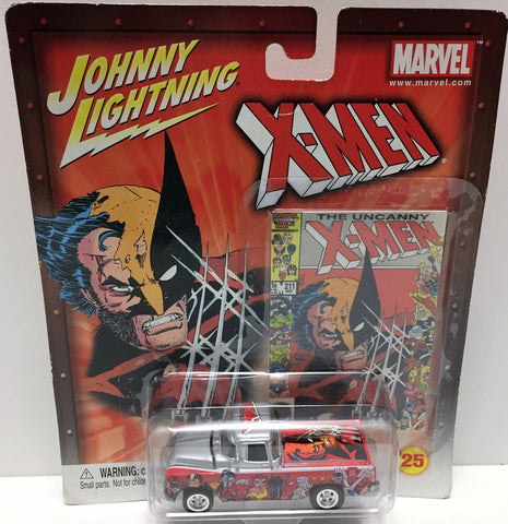 (TAS033447) - 2003 Johnny Lightning Marvel X-Men Die-Cast Metal #25 Wolverine, , Trucks & Cars, Johnny Lightning, The Angry Spider Vintage Toys & Collectibles Store  - 1