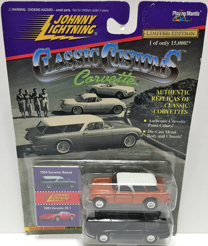 (TAS033448) - 1996 Johnny Lightning Classic Customs Die-Cast 1954 Corvette Nomad, , Trucks & Cars, Johnny Lightning, The Angry Spider Vintage Toys & Collectibles Store  - 1