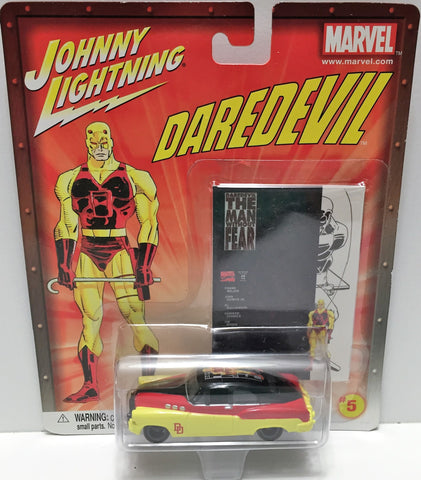 (TAS033449) - 2002 Johnny Lightning Marvel Die-Cast #5 Daredevil, , Trucks & Cars, Johnny Lightning, The Angry Spider Vintage Toys & Collectibles Store  - 1