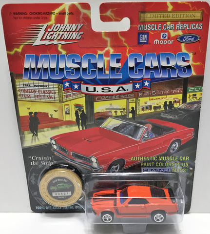(TAS033450) - 1994 Johnny Lightning Muscle Cars U.S.A. Die-Cast 1970 Boss 302, , Trucks & Cars, Johnny Lightning, The Angry Spider Vintage Toys & Collectibles Store  - 1