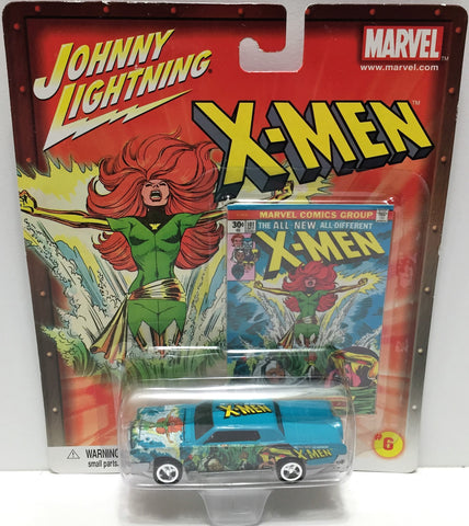 (TAS033451) - 2002 Johnny Lightning Marvel X-Men Die-Cast #101 Continental, , Trucks & Cars, Johnny Lightning, The Angry Spider Vintage Toys & Collectibles Store  - 1