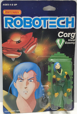 (TAS033455) - 1985 Matchbox RoboTech Invid Enemy Action Figure Corg, , Action Figure, Matchbox, The Angry Spider Vintage Toys & Collectibles Store  - 1