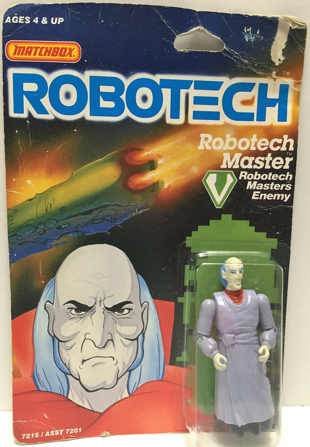 (TAS033457) - 1985 Matchbox RoboTech RoboTech Masters Enemy RoboTech Master, , Action Figure, Matchbox, The Angry Spider Vintage Toys & Collectibles Store  - 1