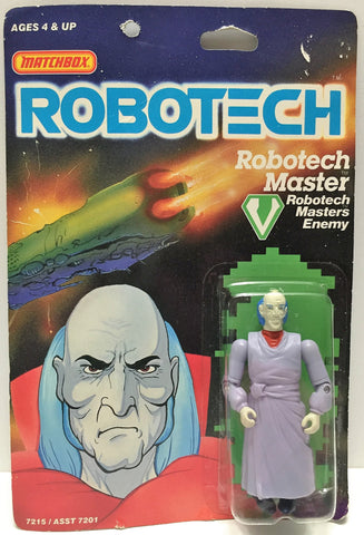 (TAS033458) - 1985 Matchbox RoboTech RoboTech Masters Enemy RoboTech Master, , Action Figure, Matchbox, The Angry Spider Vintage Toys & Collectibles Store  - 1