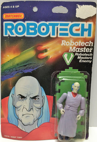 (TAS033459) - 1985 Matchbox RoboTech RoboTech Masters Enemy RoboTech Master, , Action Figure, Matchbox, The Angry Spider Vintage Toys & Collectibles Store  - 1