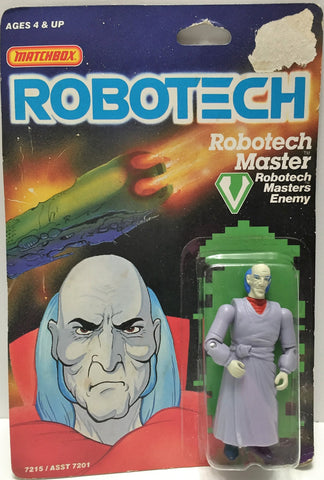 (TAS033460) - 1985 Matchbox RoboTech RoboTech Masters Enemy RoboTech Master, , Action Figure, Matchbox, The Angry Spider Vintage Toys & Collectibles Store  - 1