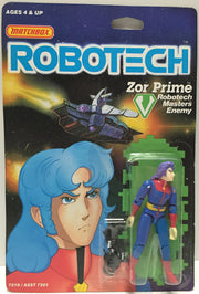 (TAS033461) - 1985 Matchbox RoboTech RoboTech Masters Enemy Zor Prime, , Action Figure, Matchbox, The Angry Spider Vintage Toys & Collectibles Store  - 1