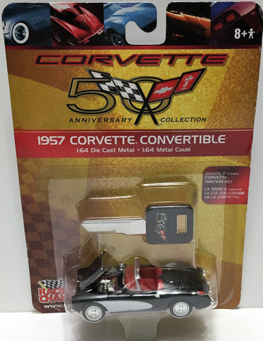 (TAS033465) - 2002 Racing Champions 1:64 Die-Cast 1957 Corvette Convertible, , Trucks & Cars, Racing Champions, The Angry Spider Vintage Toys & Collectibles Store  - 1