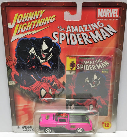 (TAS033466) - 2002 Johnny Lightning Marvel The Amazing Spider-Man Die-Cast #12, , Trucks & Cars, Johnny Lightning, The Angry Spider Vintage Toys & Collectibles Store  - 1