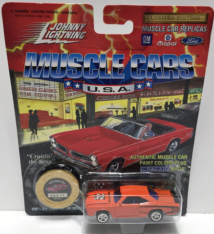 (TAS033474) - 1994 Johnny Lightning Muscle Cars U.S.A. Die-Cast 1970 Super Bee, , Trucks & Cars, Johnny Lightning, The Angry Spider Vintage Toys & Collectibles Store  - 1