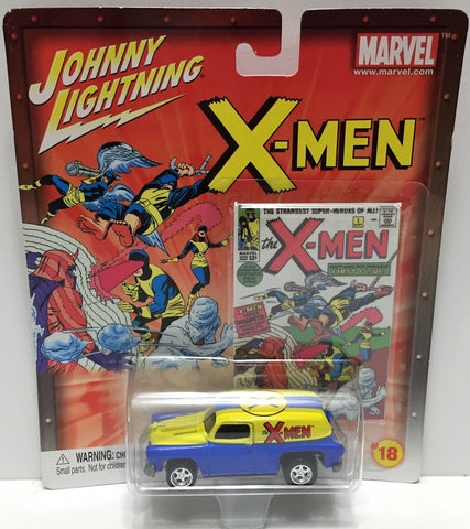 (TAS033475) - 2002 Johnny Lightning Marvel X-Men Die-Cast #18 '54 Chevy Panel, , Trucks & Cars, Johnny Lightning, The Angry Spider Vintage Toys & Collectibles Store  - 1