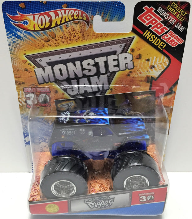(TAS033485) - 2013 Mattel Hot Wheels Die-Cast Son-Uva Digger, , Trucks & Cars, Hot Wheels, The Angry Spider Vintage Toys & Collectibles Store  - 1