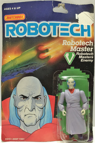 (TAS033494) - 1985 Matchbox RoboTech RoboTech Masters Enemy RoboTech Master, , Action Figure, Matchbox, The Angry Spider Vintage Toys & Collectibles Store  - 1
