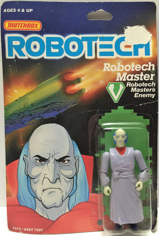 (TAS033495) - 1985 Matchbox RoboTech RoboTech Masters Enemy RoboTech Master, , Action Figure, Matchbox, The Angry Spider Vintage Toys & Collectibles Store  - 1