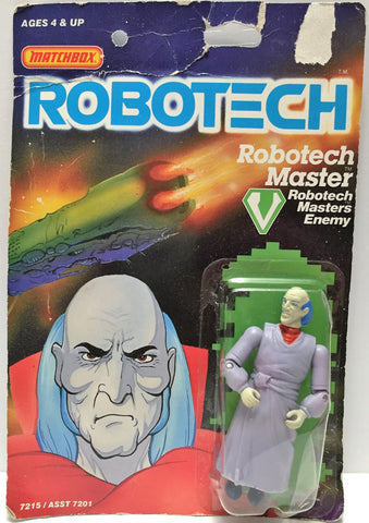 (TAS033497) - 1985 Matchbox RoboTech RoboTech Masters Enemy RoboTech Master, , Action Figure, Matchbox, The Angry Spider Vintage Toys & Collectibles Store  - 1