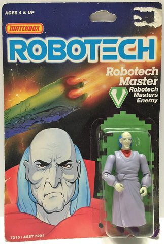 (TAS033498) - 1985 Matchbox RoboTech RoboTech Masters Enemy RoboTech Master, , Action Figure, Matchbox, The Angry Spider Vintage Toys & Collectibles Store  - 1
