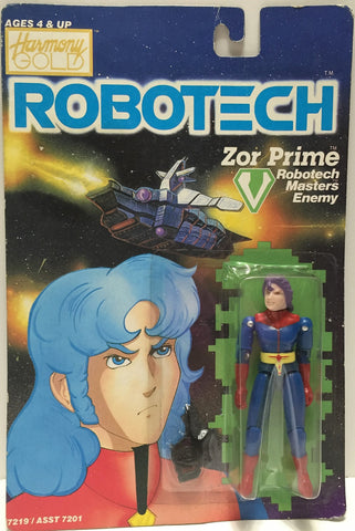 (TAS033499) - 1985 Matchbox RoboTech RoboTech Masters Enemy Zor Prime, , Action Figure, Matchbox, The Angry Spider Vintage Toys & Collectibles Store  - 1