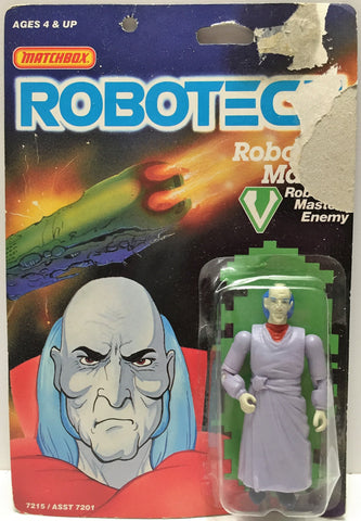 (TAS033500) - 1985 Matchbox RoboTech RoboTech Masters Enemy RoboTech Master, , Action Figure, Matchbox, The Angry Spider Vintage Toys & Collectibles Store  - 1