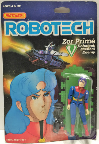 (TAS033501) - 1985 Matchbox RoboTech RoboTech Masters Enemy Zor Prime, , Action Figure, Matchbox, The Angry Spider Vintage Toys & Collectibles Store  - 1
