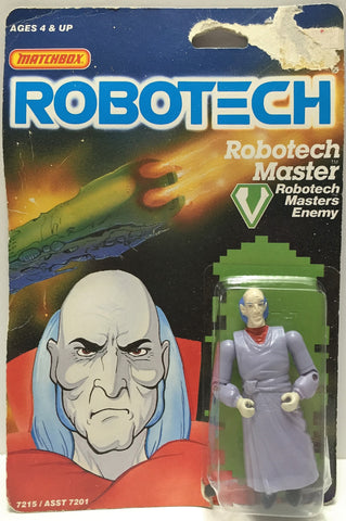 (TAS033503) - 1985 Matchbox RoboTech RoboTech Masters Enemy RoboTech Master, , Action Figure, Matchbox, The Angry Spider Vintage Toys & Collectibles Store  - 1