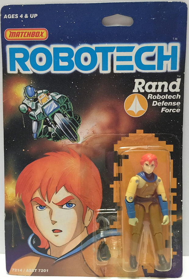 (TAS033504) - 1985 Matchbox RoboTech RoboTech Defense Force Rand, , Action Figure, Matchbox, The Angry Spider Vintage Toys & Collectibles Store  - 1