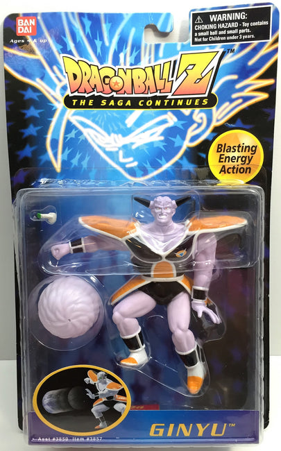 (TAS033508) - 1997 Bandai Dragonball Z The Saga Continues Ginyu, , Action Figure, Bandai, The Angry Spider Vintage Toys & Collectibles Store  - 1