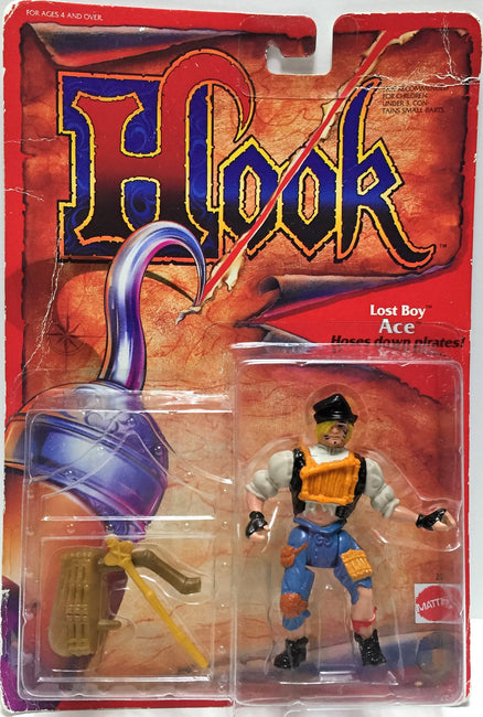 (TAS033509) - 1991 Mattel Hook Hoses Down Pirates! Lost Boy Ace, , Action Figure, Mattel, The Angry Spider Vintage Toys & Collectibles Store  - 1