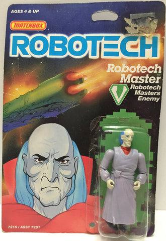 (TAS033510) - 1985 Matchbox RoboTech RoboTech Masters Enemy RoboTech Master, , Action Figure, Matchbox, The Angry Spider Vintage Toys & Collectibles Store  - 1