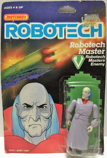 (TAS033511) - 1985 Matchbox RoboTech RoboTech Masters Enemy RoboTech Master, , Action Figure, Matchbox, The Angry Spider Vintage Toys & Collectibles Store  - 1