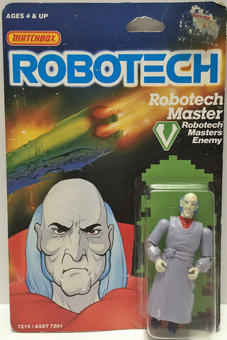 (TAS033513) - 1985 Matchbox RoboTech RoboTech Masters Enemy RoboTech Master, , Action Figure, Matchbox, The Angry Spider Vintage Toys & Collectibles Store  - 1