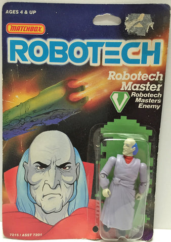 (TAS033514) - 1985 Matchbox RoboTech RoboTech Masters Enemy RoboTech Master, , Action Figure, Matchbox, The Angry Spider Vintage Toys & Collectibles Store  - 1