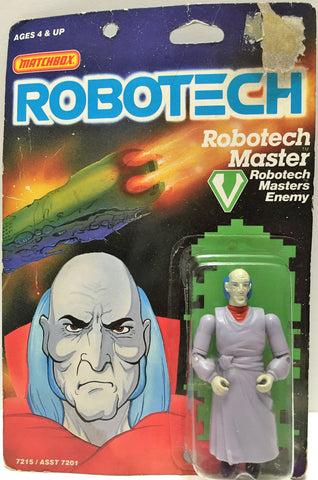 (TAS033515) - 1985 Matchbox RoboTech RoboTech Masters Enemy RoboTech Master, , Action Figure, Matchbox, The Angry Spider Vintage Toys & Collectibles Store  - 1