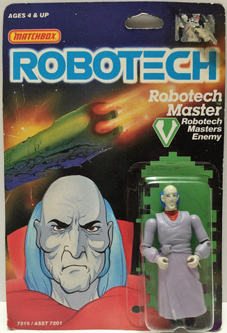 (TAS033516) - 1985 Matchbox RoboTech RoboTech Masters Enemy RoboTech Master, , Action Figure, Matchbox, The Angry Spider Vintage Toys & Collectibles Store  - 1