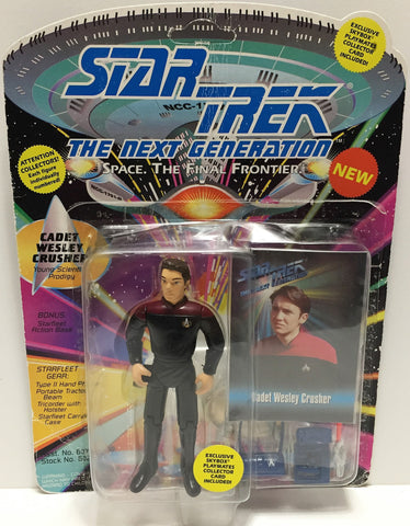 (TAS033517) - 1993 Playmates Star Trek The Next Generation Cadet Wesley Crusher, , Action Figure, Star Trek, The Angry Spider Vintage Toys & Collectibles Store  - 1