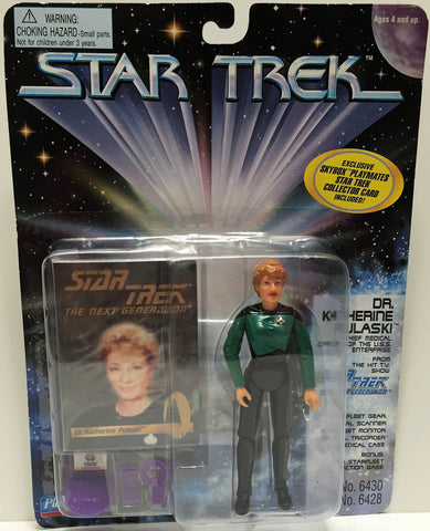 (TAS033523) - 1995 Playmates Star Trek The Next Generation Dr. Katherine Pulaski, , Action Figure, Star Trek, The Angry Spider Vintage Toys & Collectibles Store  - 1