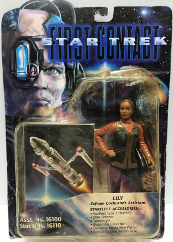 (TAS033525) - 1996 Playmates Star Trek First Contact Action Figure Lily, , Action Figure, Star Trek, The Angry Spider Vintage Toys & Collectibles Store  - 1