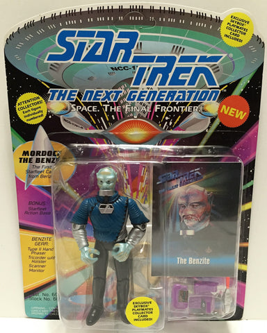 (TAS033526) - 1993 Playmates Star Trek The Next Generation Mordock The Benzite, , Action Figure, Star Trek, The Angry Spider Vintage Toys & Collectibles Store  - 1