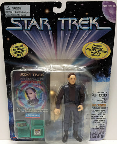 (TAS033527) - 1996 Playmates Star Trek Deep Space Nine Security Chief Odo, , Action Figure, Star Trek, The Angry Spider Vintage Toys & Collectibles Store  - 1