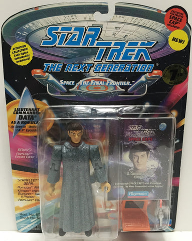 (TAS033529) - 1994 Playmates Star Trek The Next Generation Data As A Romulan, , Action Figure, Star Trek, The Angry Spider Vintage Toys & Collectibles Store  - 1