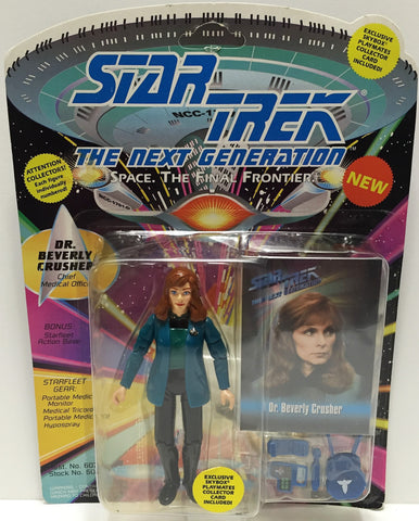 (TAS033530) - 1993 Playmates Star Trek The Next Generation Dr. Beverly Crusher, , Action Figure, Star Trek, The Angry Spider Vintage Toys & Collectibles Store  - 1