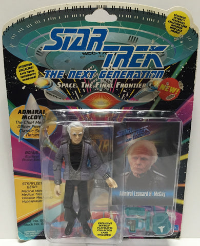 (TAS033531) - 1993 Playmates Star Trek The Next Generation Figure Admiral McCoy, , Action Figure, Star Trek, The Angry Spider Vintage Toys & Collectibles Store  - 1