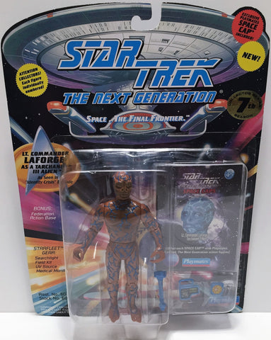 (TAS033536) - 1994 Playmates Star Trek The Next Generation LaForge As Tarchannen, , Action Figure, Star Trek, The Angry Spider Vintage Toys & Collectibles Store  - 1
