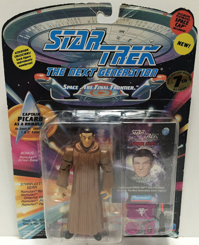 (TAS033537) - 1994 Playmates Star Trek The Next Generation Captain Picard, , Action Figure, Star Trek, The Angry Spider Vintage Toys & Collectibles Store  - 1