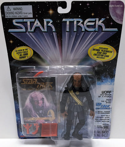 (TAS033539) - 1995 Playmates Star Trek The Next Generation Figure Wolf, , Action Figure, Star Trek, The Angry Spider Vintage Toys & Collectibles Store  - 1