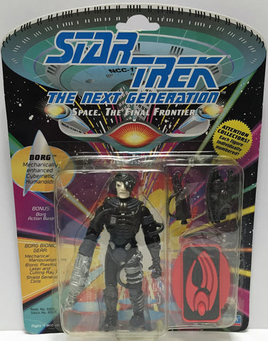 (TAS033540) - 1992 Playmates Star Trek The Next Generation Figure Borg, , Action Figure, Star Trek, The Angry Spider Vintage Toys & Collectibles Store  - 1