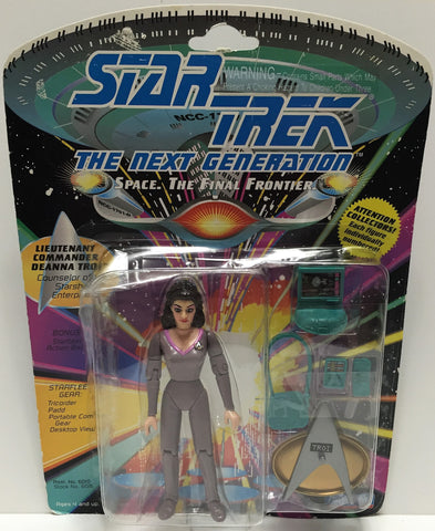 (TAS033541) - 1992 Playmates Star Trek The Next Generation Deanna Troi, , Action Figure, Star Trek, The Angry Spider Vintage Toys & Collectibles Store  - 1